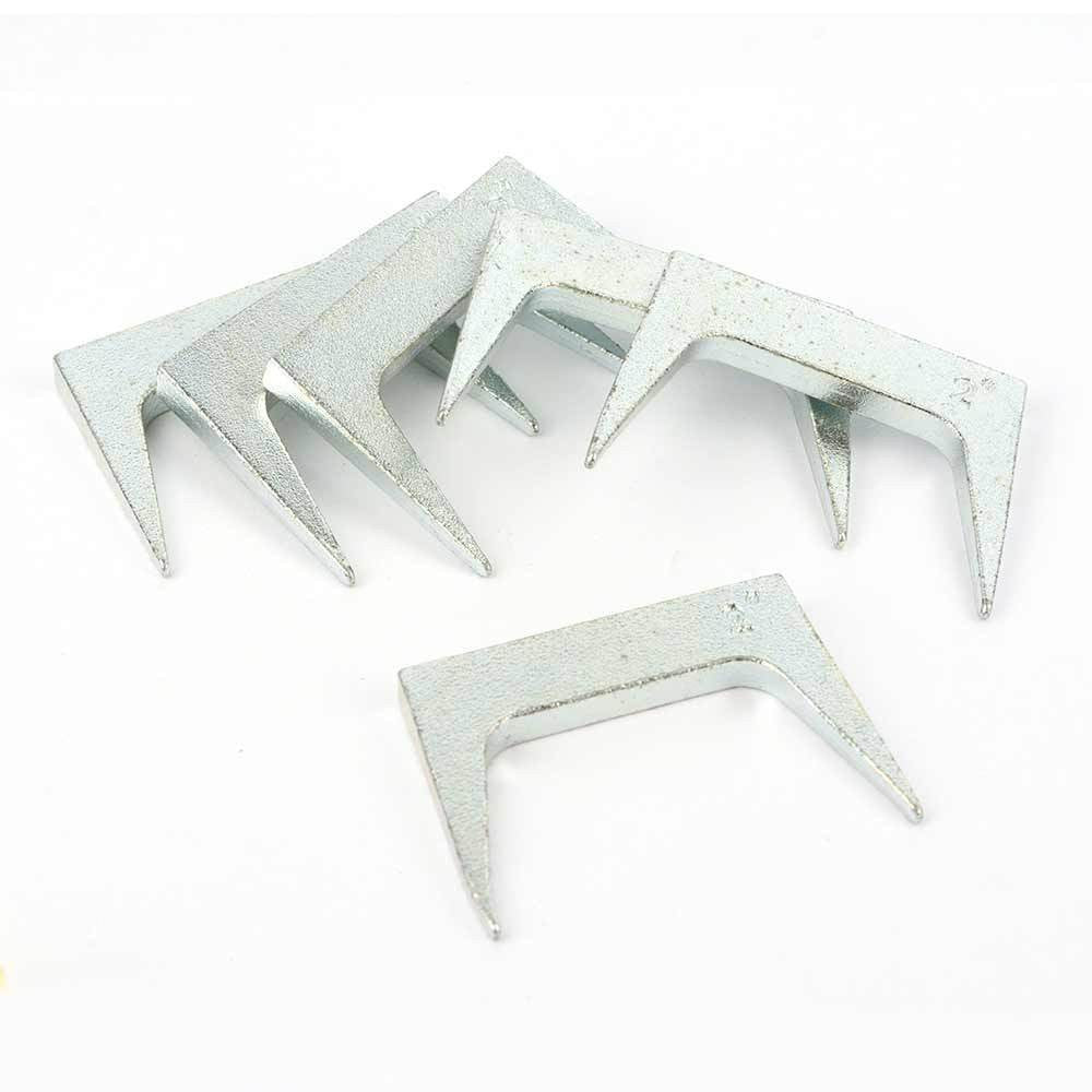 6pc pinch bench dog clamps for woodworking wood