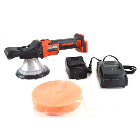 Cordless Battery Operated Random Orbit Polisher Buffer Sander - tool