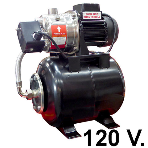 1 HP Electric Water Pressure Boosting Pump