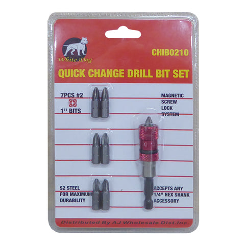 Quick Change Snap Screwdriver Drill Bit Driver Set - tool