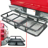 Hitch Mounted Cargo Carrier Rack Platform - tool