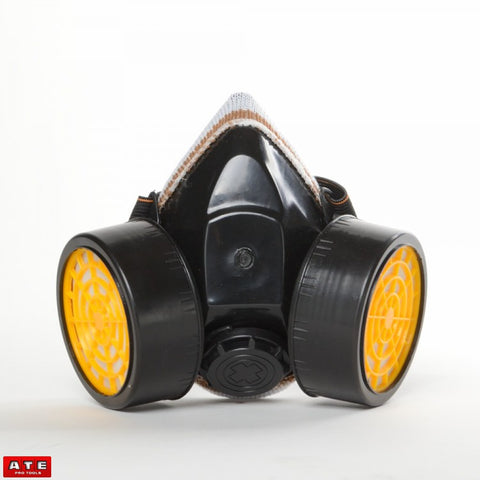Woodworking Particle Dust Dual Filter Respirator Mask