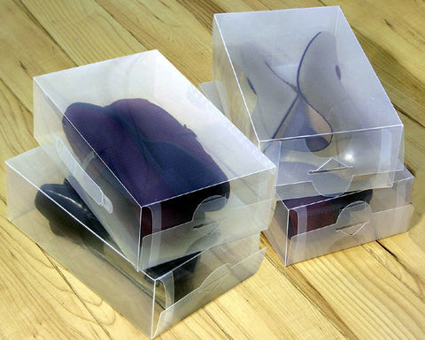 Clear Shoe Box Storage Boxes - JABETC