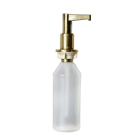 Undersink Under Sink Counter Gold Hand Pump Soap Dispenser
