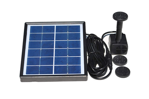 Solar Powered Water Fountain Pump - tool