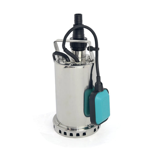 1 HP Stainless Steel Submersible Pump, Sump Pump - tool