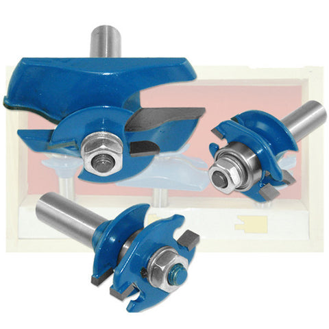 Stile and Rail Raised Panel Router Bit Set - tool