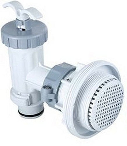 Intex Replacement Plunger Valve with Grid & Strainer Assembly - tool
