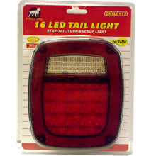 Replacement LED Tail Light for Truck or Trailer with Reverse - tool