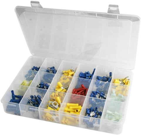 360 Piece Solderless Wire Terminal Connector Kit - tool