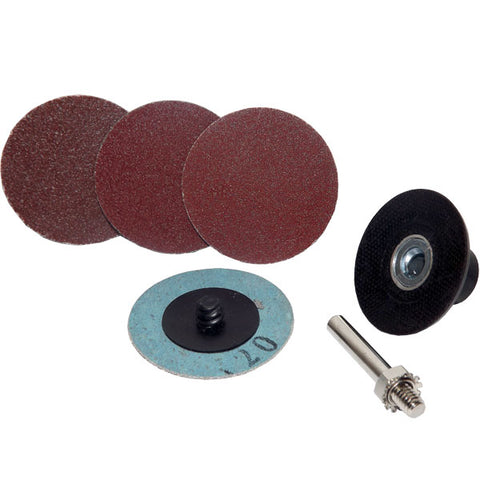 "Small Shaft 2"" Flat Round Sanding Sander Disc Kit - tool"