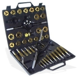 Large Metric Titanium Tap and Die Set - JABETC