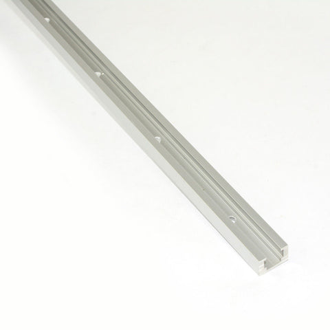"48"" Sliding Aluminum T-Track T-Slot Channel for Drill Press, Table Saw Router Jig"