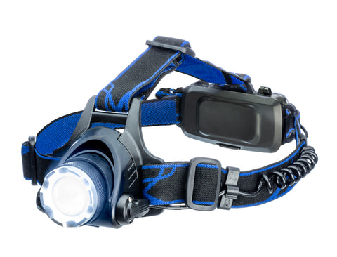 Adjustable Focus Zoom Zooming Rechargeable Pivoting Headlamp Head Work Lamp - tool