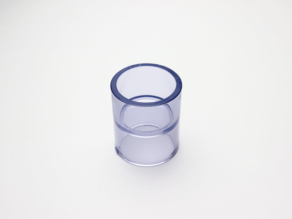 Pipe Works - Large 40mm ID Clear Pipe Outer Connector