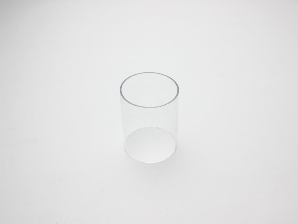 Pipe Works - Large 40mm OD Clear Pipe Inner Connector