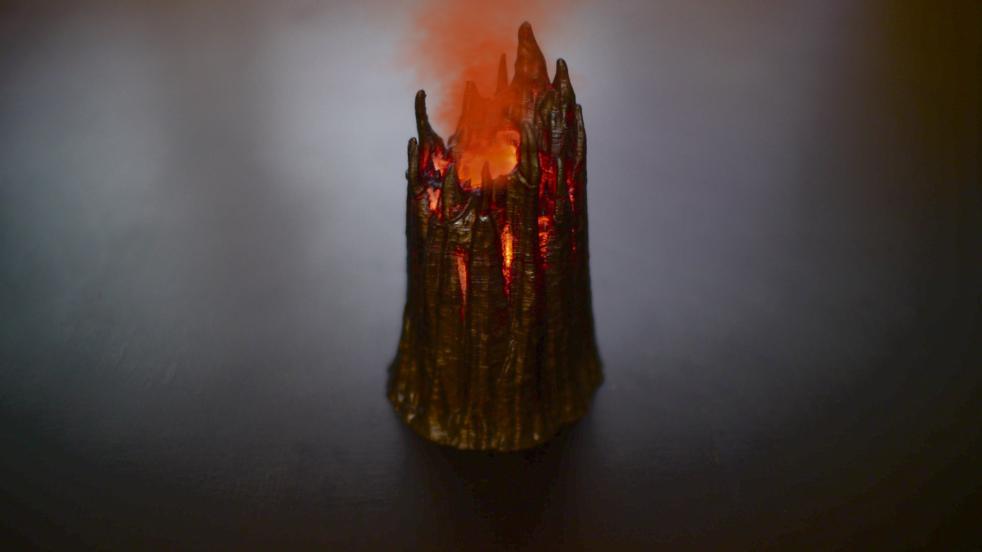 Fangtooth Lava Maw - Smoking Lava Vent For Tabletop Game Terrain