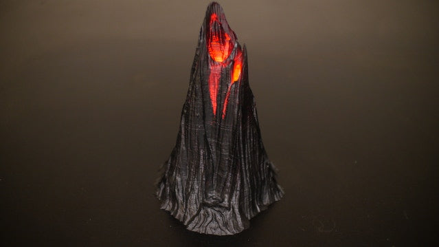 Blackhorn Volcano - Real Steaming Volcano For Tabletop Game Terrain