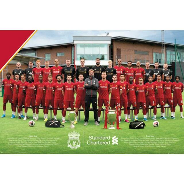 Liverpool Team Photo 19/20 Stor Plakat