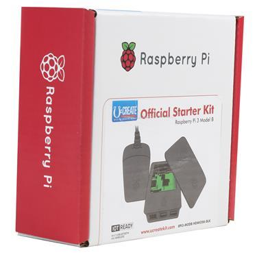 Raspberry Pi 3 Official Starter Kit - Black U:Create - Mods4Mars