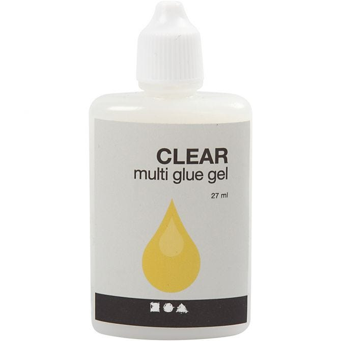 Clear Multi glue gel 27 ml