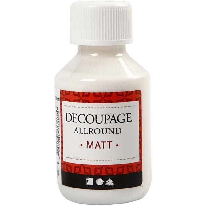Decoupagelakk, 100 ml