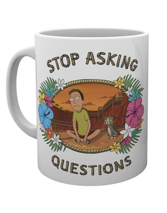 Rick and Morty Questions Mug