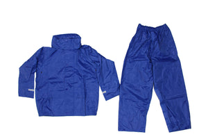 Blue Waterproof Jacket And Trousers