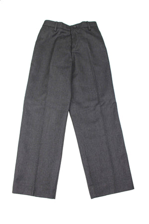 Boys Medium Grey Long Trousers