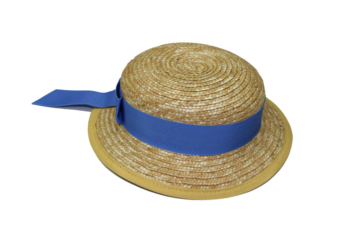 Summer Boater Hat