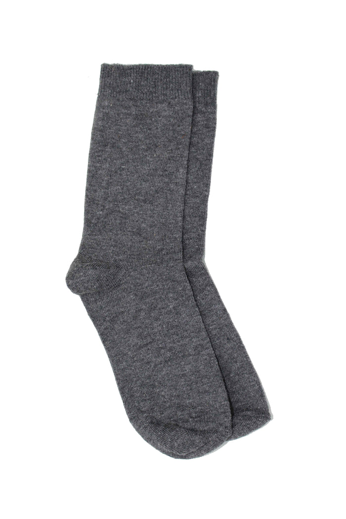 Grey Ankle Socks (Pack of 5)