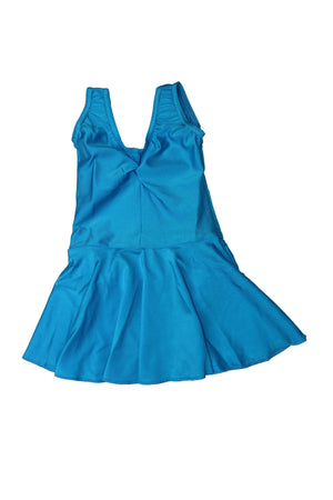 Kingfisher Skirted Sleeveless Leotard