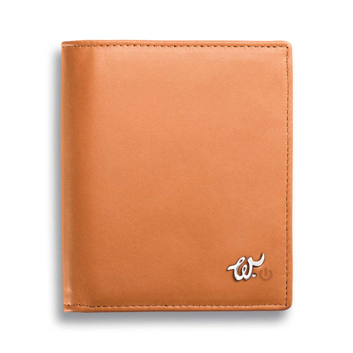 Selfie Smart Tech Wallet Cognac