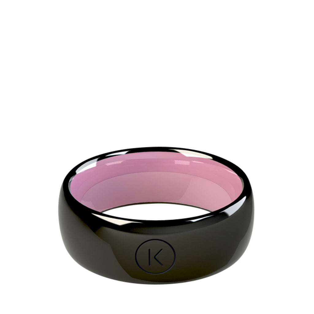 Contactless Payment Ring Black Candy