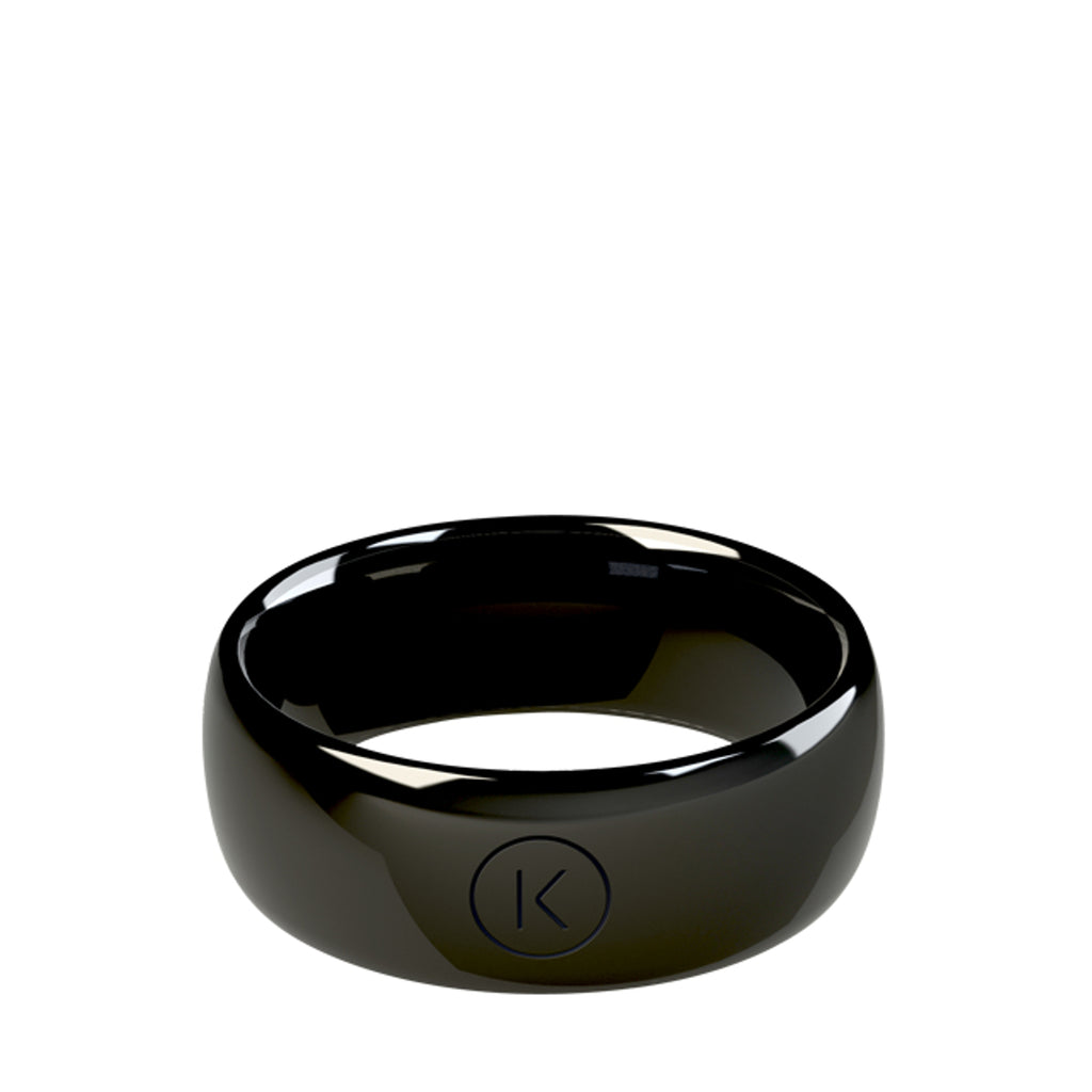 Contactless Payment Ring Black Jet