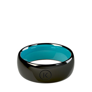 Contactless Payment Ring Black Ocean