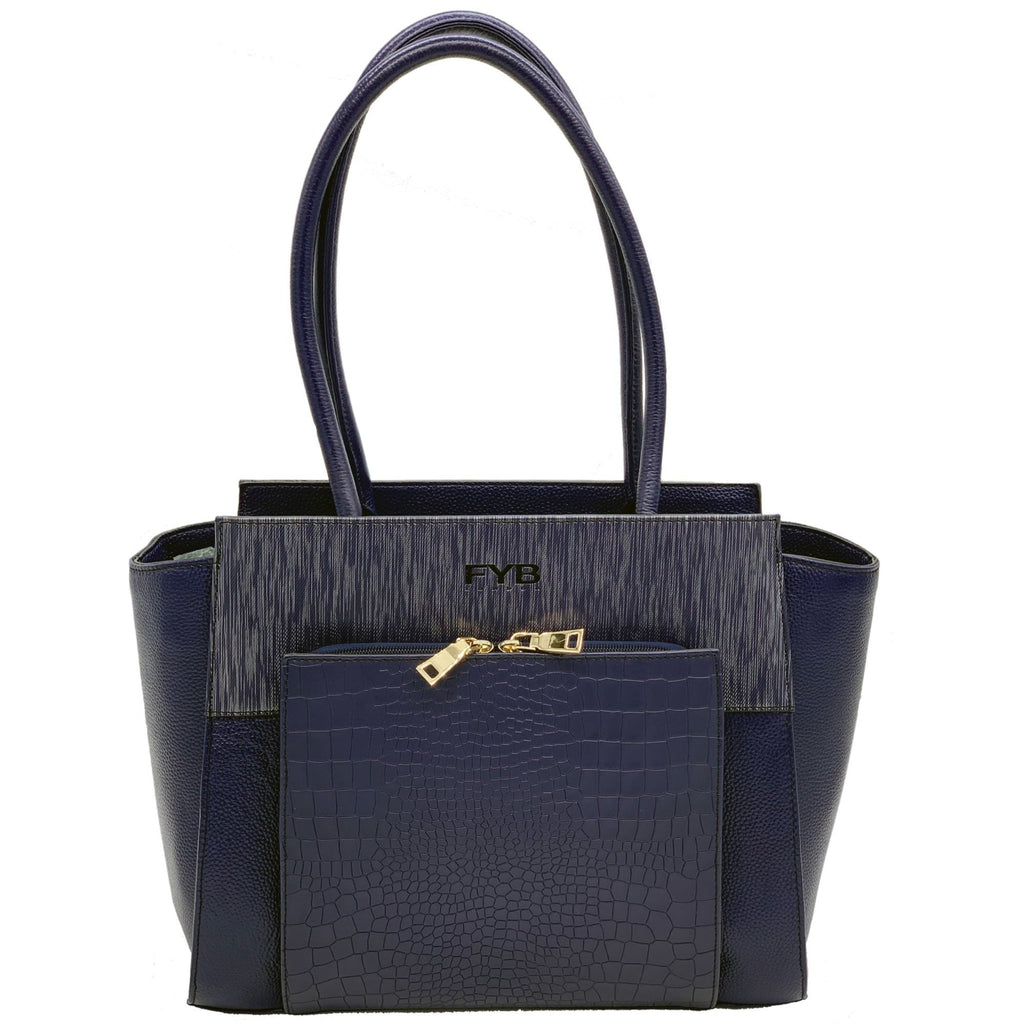 Smart Tech Exec Handbag - Blue