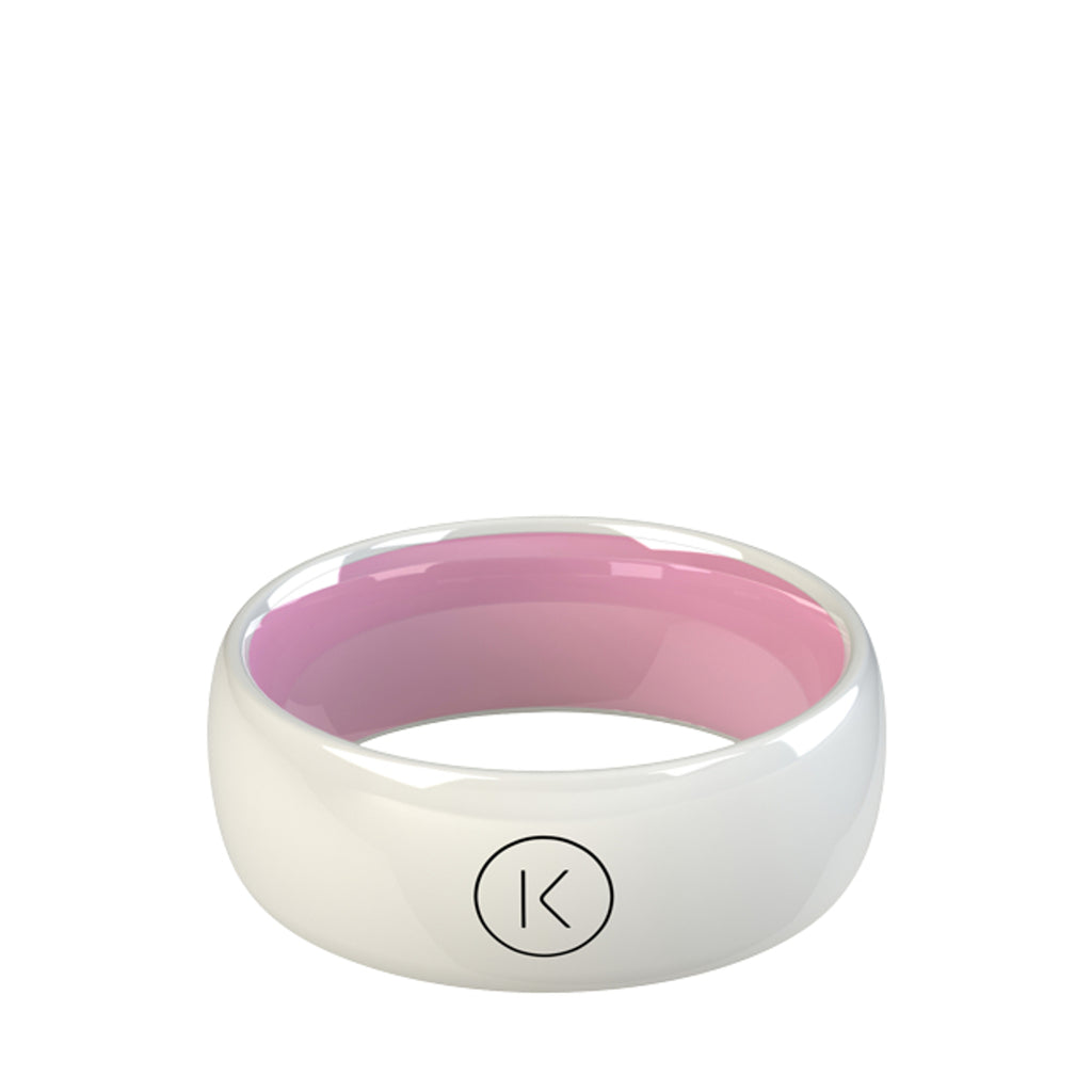 Contactless Payment Ring White Candy
