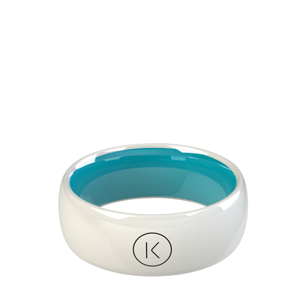 Contactless Payment Ring White Ocean