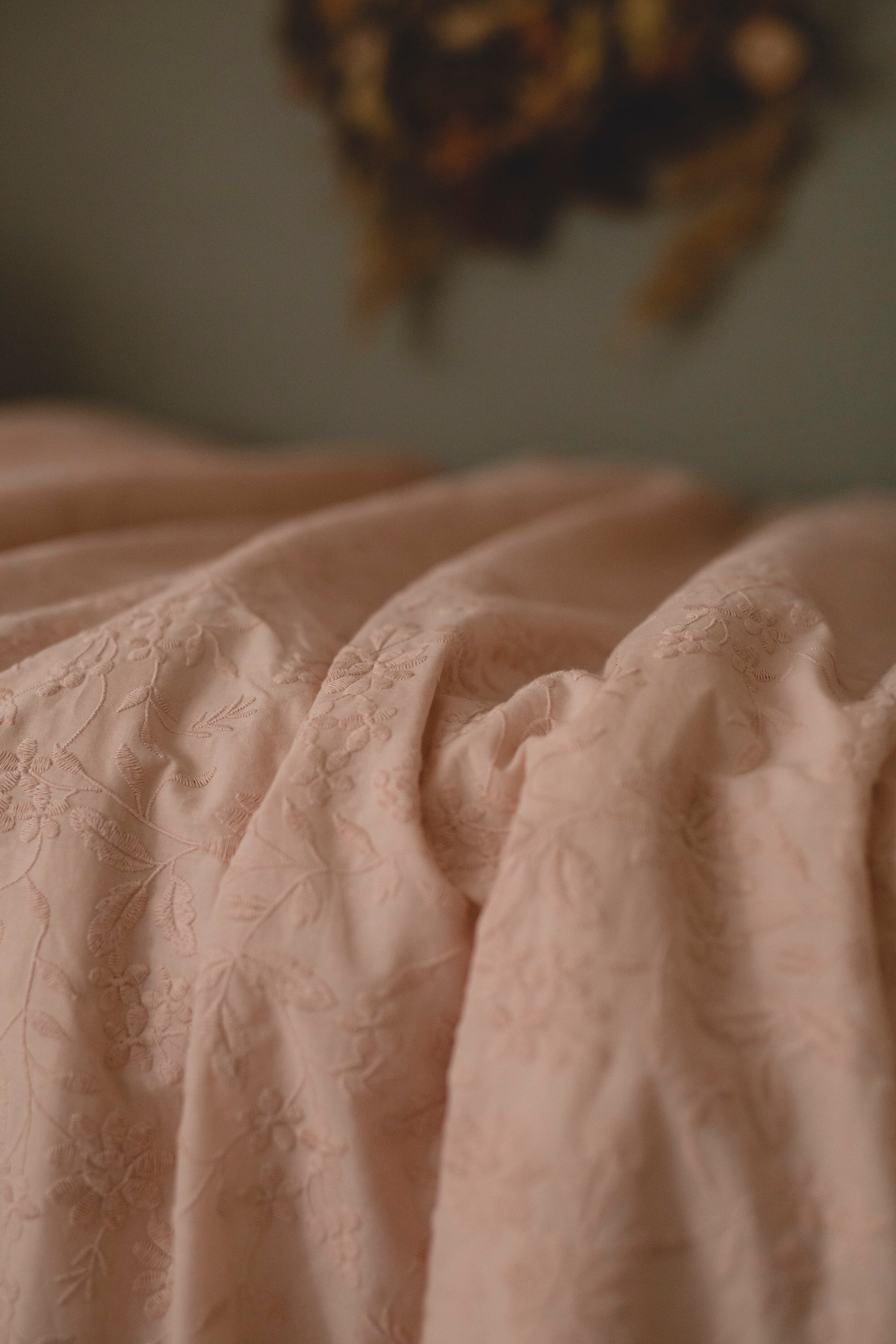Dusty Pink Luxe Bedding