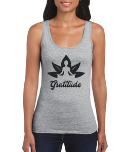 Silver Lightning Apparel Gratitude Yoga Tank Top