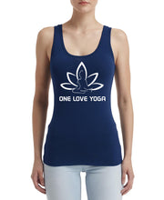 Silver Lightning Apparel Yoga One Love Racerback Tank Top