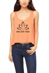 Silver Lightning Apparel One Love Yoga Flowy Boxy Tank Top