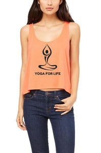Silver Lightning Apparel Yoga for Life Yoga Flowy Boxy Tank Top