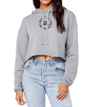 Silver Lightning Women's Cropped Fleece Hood