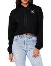 Silver Lightning Women's Cropped Fleece Hoodie