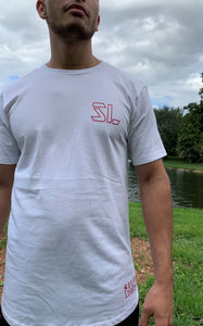 SL Men's Cotton Long Body Crew Tee