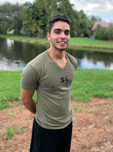 SL Comfortable Fit Tri blend Military Green TShirt