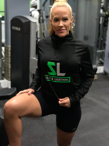 SL Quarter Zip Wicking Long Sleeve Pullover