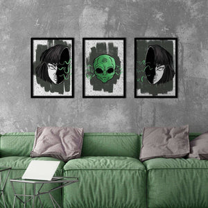 Alien Poster Set - Northshire Wall Art